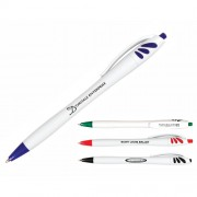 Spirit Click Pen White Barrel
